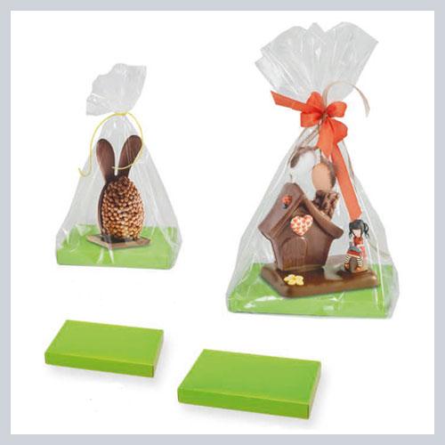 Bases para figuras de chocolate