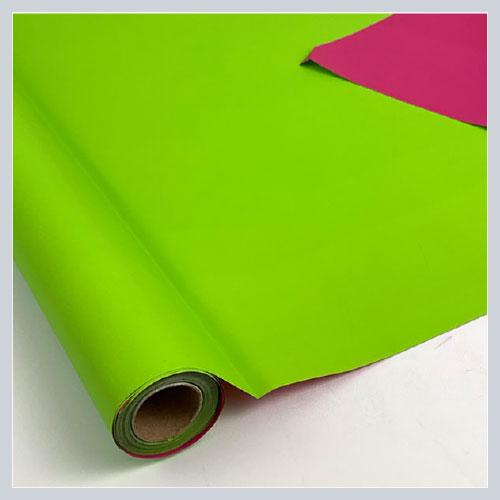 Bobinas de papel polipropileno VERDE ROSA