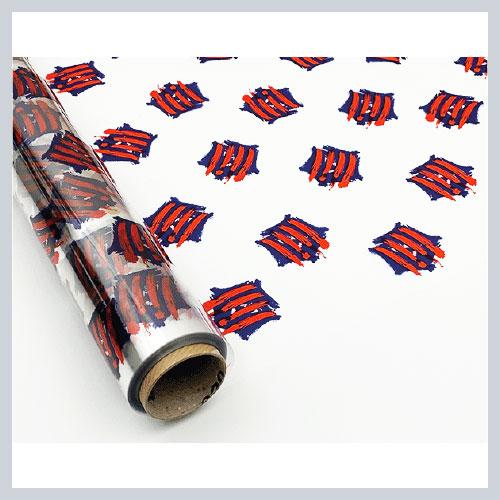 Bobinas de papel Polipropileno transparente decorativas