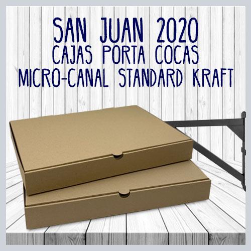 Cajas porta cocas micro-canal kraft