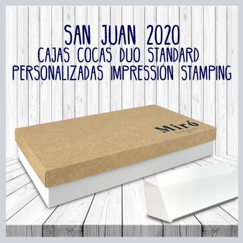 Cajas DUO standard stamping
