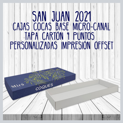 Caja coca base micro canal